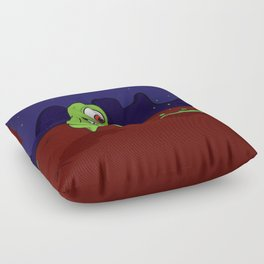 Space Character Floor Pillow