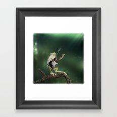 A Call for Rain Framed Art Print