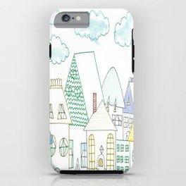 dreamy neighborhood iPhone Case
