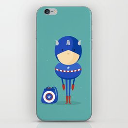 My dreaming hero! iPhone Skin