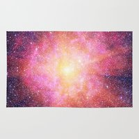 interstellar Area & Throw Rugs featuring Interstellar Nebula by Space99