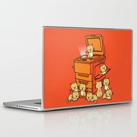 kittens Laptop & iPad Skins featuring The Original Copycat by Picomodi