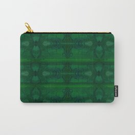 Patterns II Green Carry-All Pouch