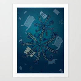 Plastified Art Print