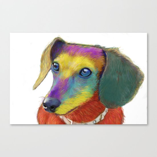 Dachshund Dog Canvas Print
