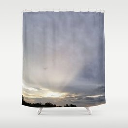 God's Watch Tower Shower Curtain