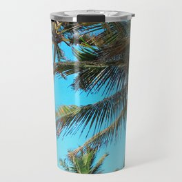 Belize Palms Travel Mug