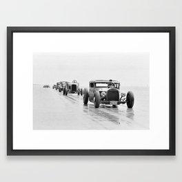 Pendine Sands 5l Framed Art Print