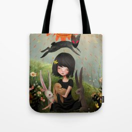 My Heart has Joined the Thousand, for my friend stopped running today. Tote Bag