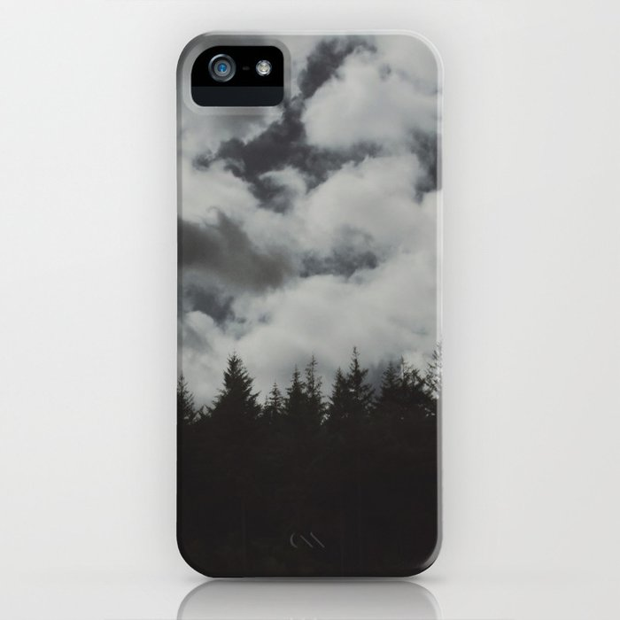 Dark forest. iPhone Case