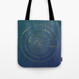 Golden System Tote Bag