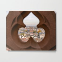 A Cathedral with a View Metal Print