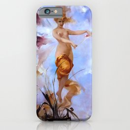 "Luis Ricardo Falero ""Nymph"" iPhone Case"