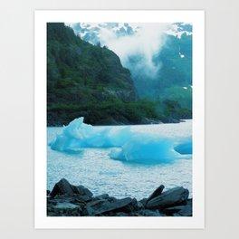 Glacial Ice Art Print