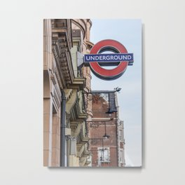 London 12 Metal Print