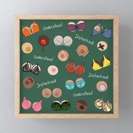 Sisterhood Understood Sisterhood - International Women's Day Framed Mini Art Print