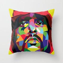 Schoolboy Q Pop Art Throw Pillow