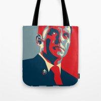 hero Tote Bags featuring Hero by Skylofts Merch