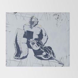 Pro Goalie - Ice Hockey Throw Blanket