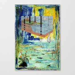 The Dive Canvas Print