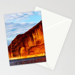 Warm Summer Evening On The Lake Stationery Cards