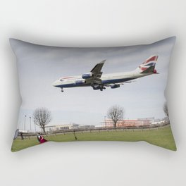 Jumbo Jet Photo Shoot Rectangular Pillow