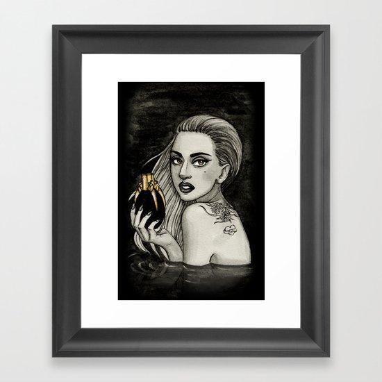 Fame Framed Art Print