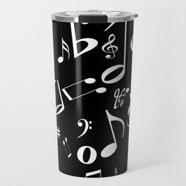 Music in the Air Black Travel Mug