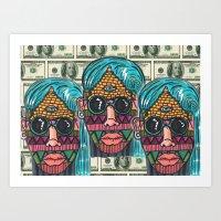illuminati Art Prints featuring IllUmiNaTi by CREATOROFARTS