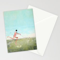 spaziergang mit ego Stationery Cards