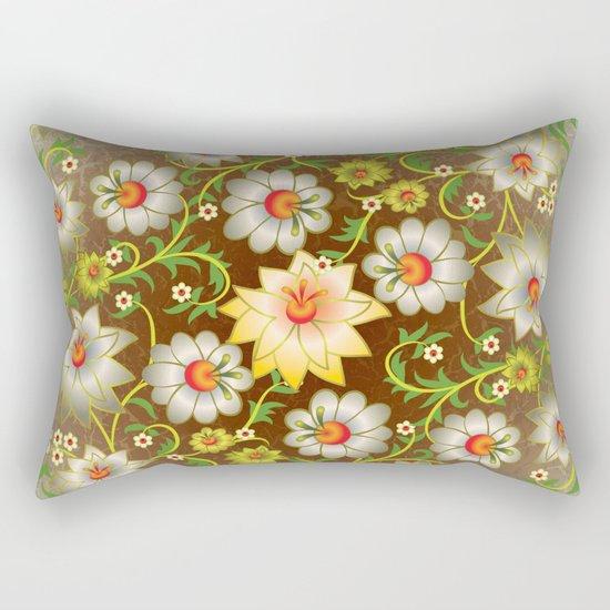 Shabby flowers #10 Rectangular Pillow