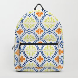 Happy Portuguese Tiles Backpack