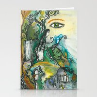 snape Stationery Cards featuring Soul of Snape by Springfae