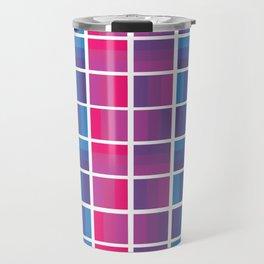 Bi Grid Travel Mug