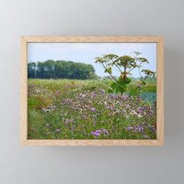 Summer meadow in The Netherland |Dutch landscape | Fine art landscape photography Framed Mini Art Print
