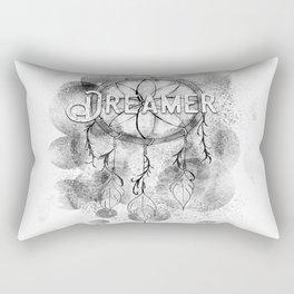 Black and white Dream Catcher Rectangular Pillow