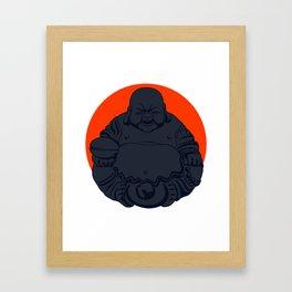 Dark Budai Framed Art Print