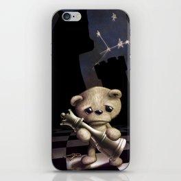 Teddy Chess iPhone Skin