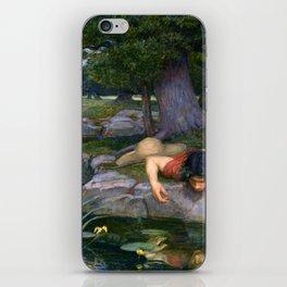 Echo And Narcissus WM Waterhouse iPhone Skin