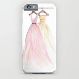 Two Dresses 1 iPhone Case