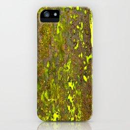 Yellow Rust iPhone Case