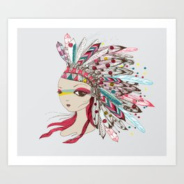 Lead with Love Art Print