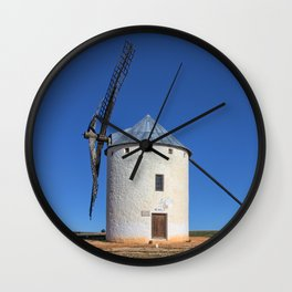 Spanish Windmill Wall Clock