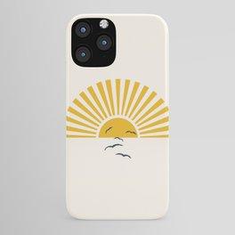 Minimalistic Summer I iPhone Case