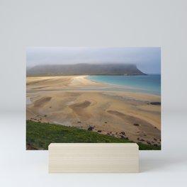 Unexpected Beach, Iceland Mini Art Print