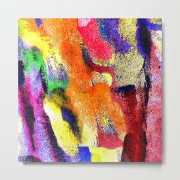 Abstract Poster Metal Print