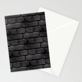 Brique Noir/Gris Stationery Cards
