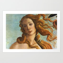 The Birth of Venus by Botticelli Art Print
