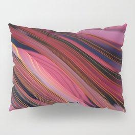 Plum Abstract Pillow Sham