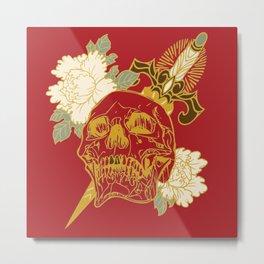 Death Flower 2 Metal Print